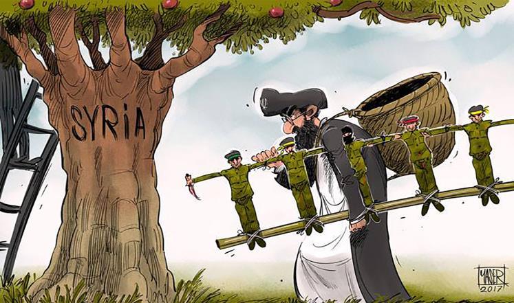 صورة مغردون:#لا_للاستيطان_الإيراني_بسوريا