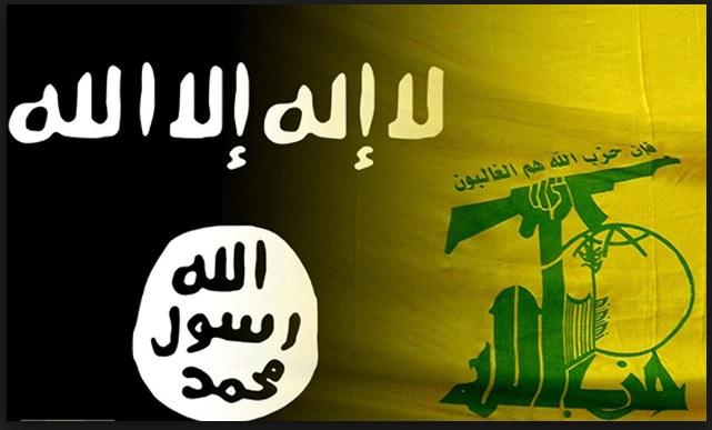 صورة حزب الله يناشد لمنع قصف قوافل تنظيم الدولة