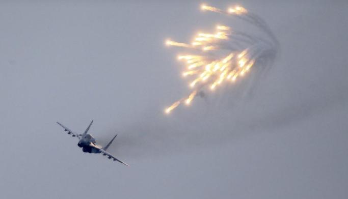 """صورة الدفاع الروسية تنفي استهداف """"قسد"""""""