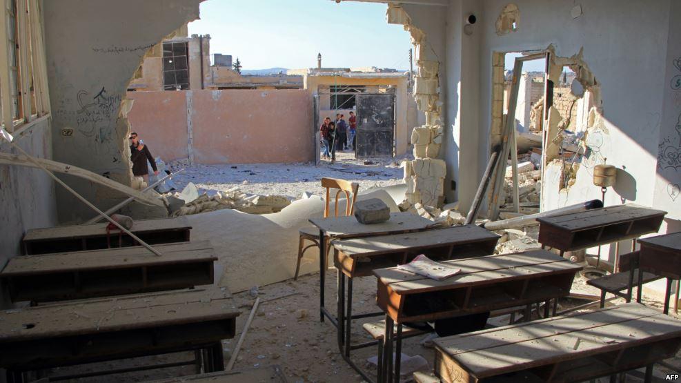 صورة وقف لإطلاق النار في الشمال السوري