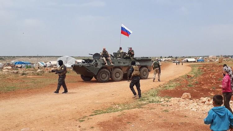 صورة مناطق فض اشتباك روسية بين الحر وقسد