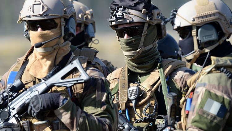 صورة مقتل جندي فرنسي على الحدود السورية العراقية