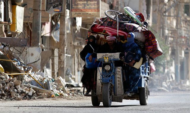 صورة الأمم المتحدة تطالب بحماية المدنيين بدير الزور