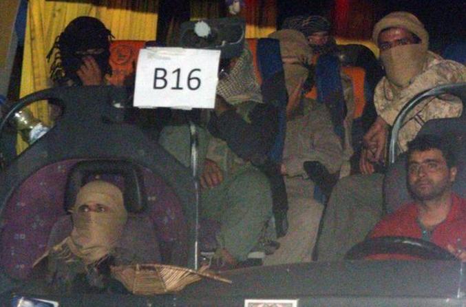 صورة التحالف الدولي: قافلة تنظيم الدولة الإسلامية انقسمت لمجموعتين