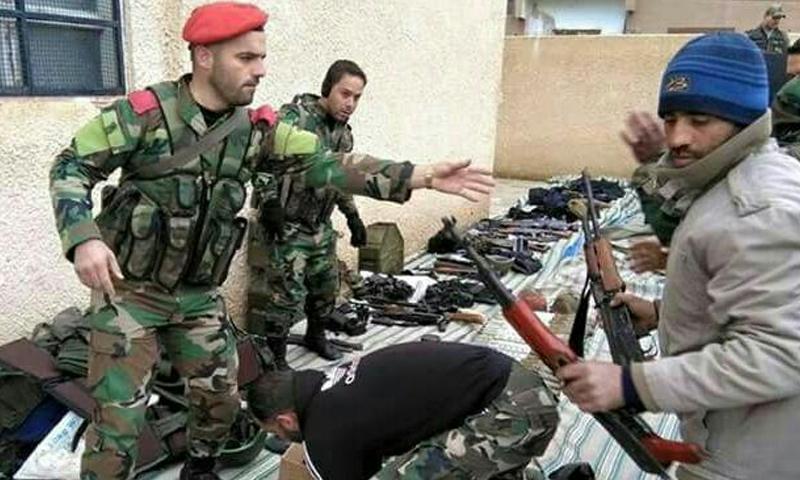 """صورة الأسد ينقلب على المصالحات ويحاصر """"كناكر"""""""