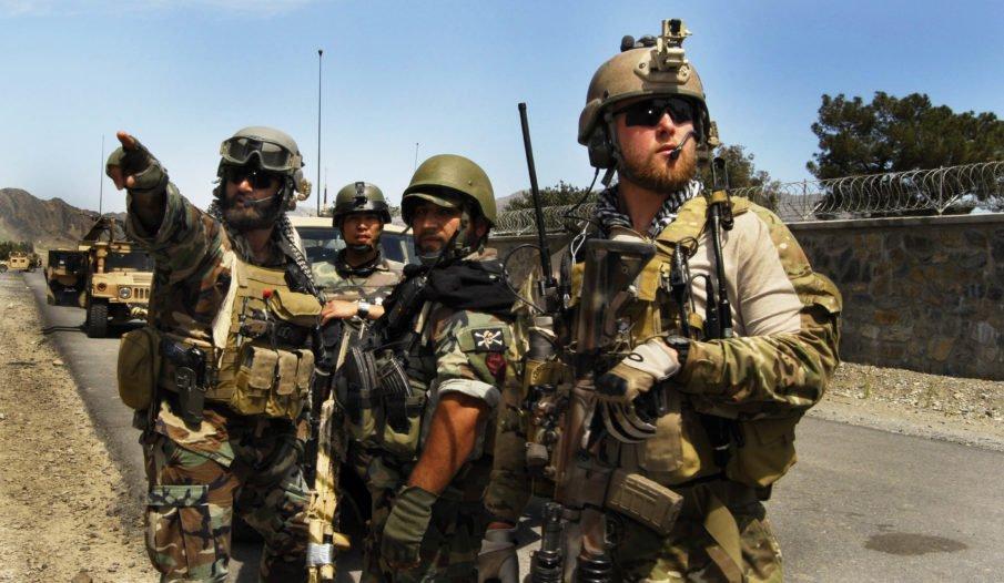 صورة مقتل جنديين أمريكين بمعارك الرقة