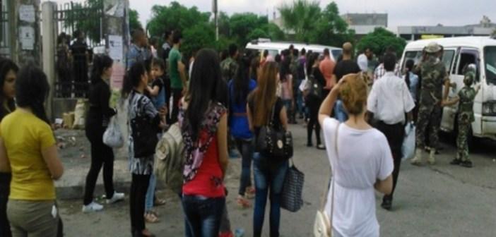 صورة قناص يستهدف فتيات من جبلة بمناطق حساسة