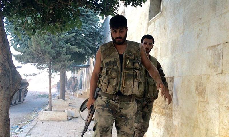 صورة تنظيم الدولة يأسر 21 من قوات الأسد