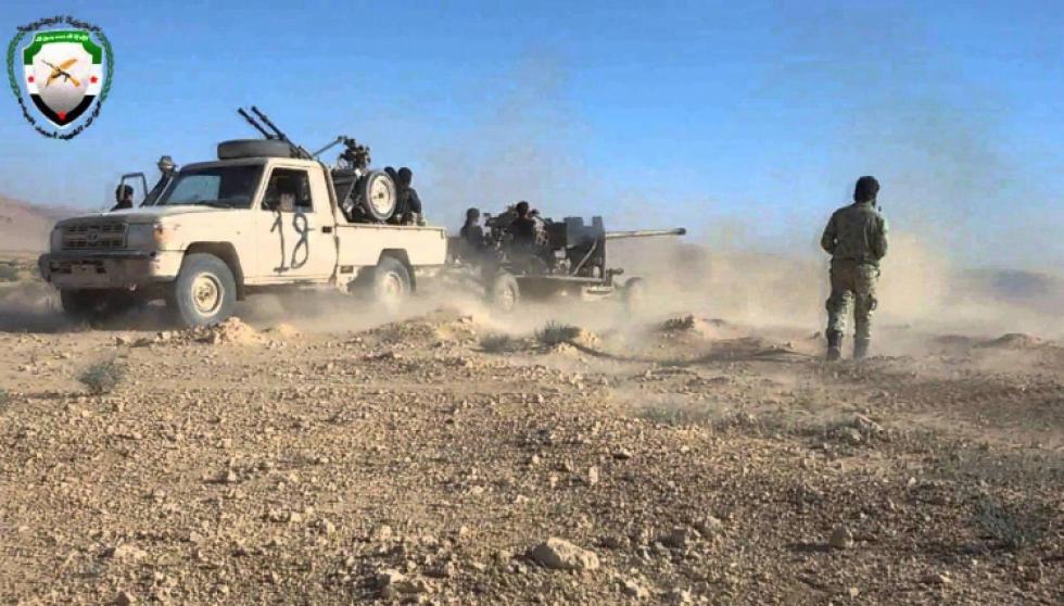 صورة الائتلاف: لا لإخراج الجيش الحر من البادية