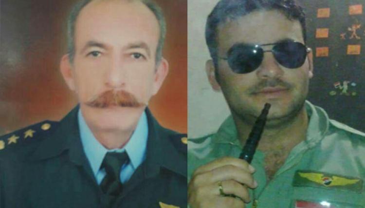 صورة تحطم مروحية عسكرية للأسد ومصرع 3 طيارين