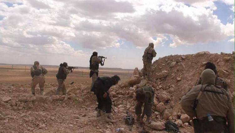 صورة تنظيم الدولة يبدأ معركة جديدة في ريف حمص
