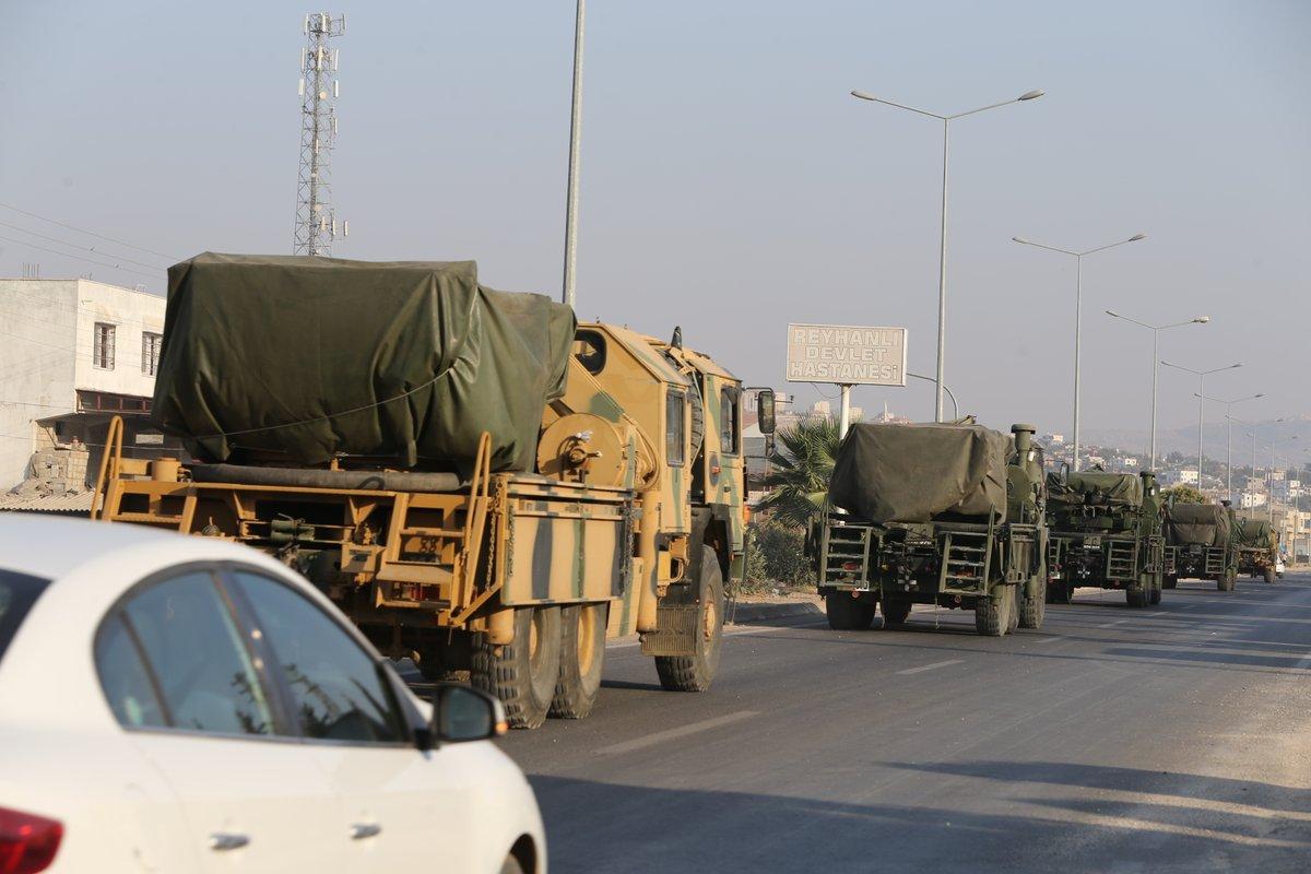 """صورة تركيا تعزز حدودها مع سوريا بـ """"القوات الخاصة"""""""