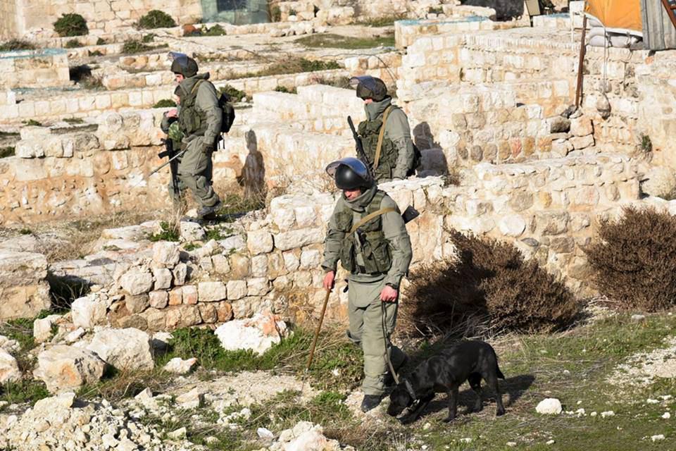 صورة المعارضة تحاصر كتيبة روسية في إدلب