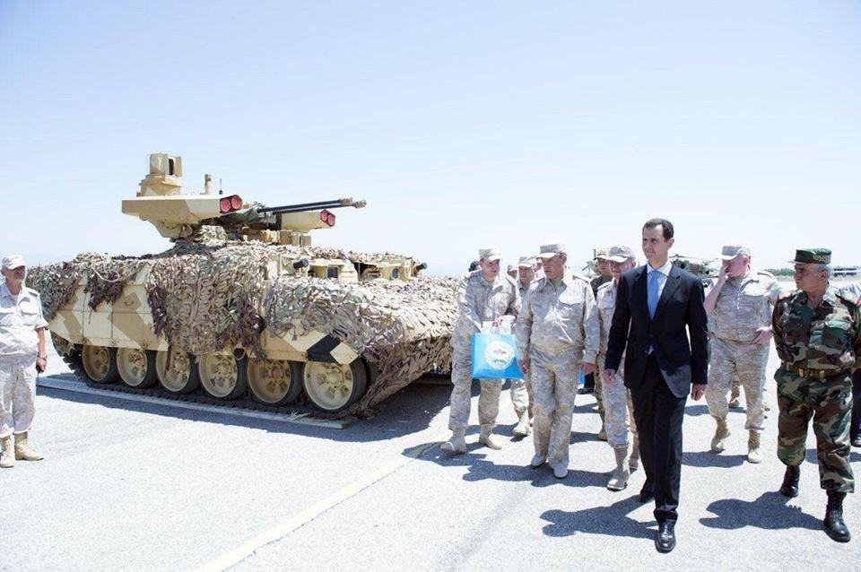 صورة قوات الأسد والروس ينتهكان اتفاقية أستانة