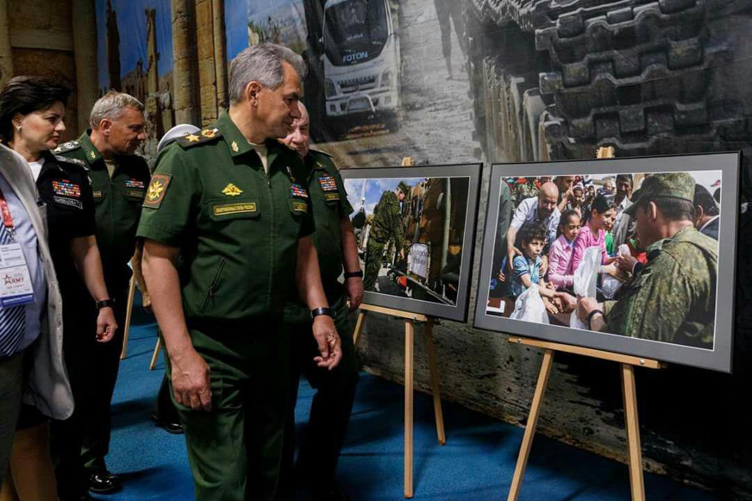 صورة روسيا تستعرض سيطرتها على الحرب والسلم بسوريا