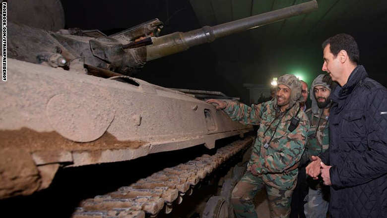 صورة موسكو: الأسد يسيطر على 85% من سوريا