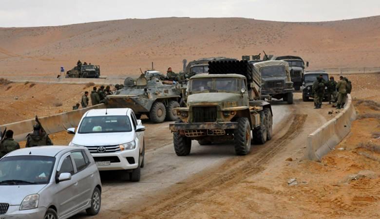 صورة أسباب انحسار تقدم قوات الأسد بدير الزور