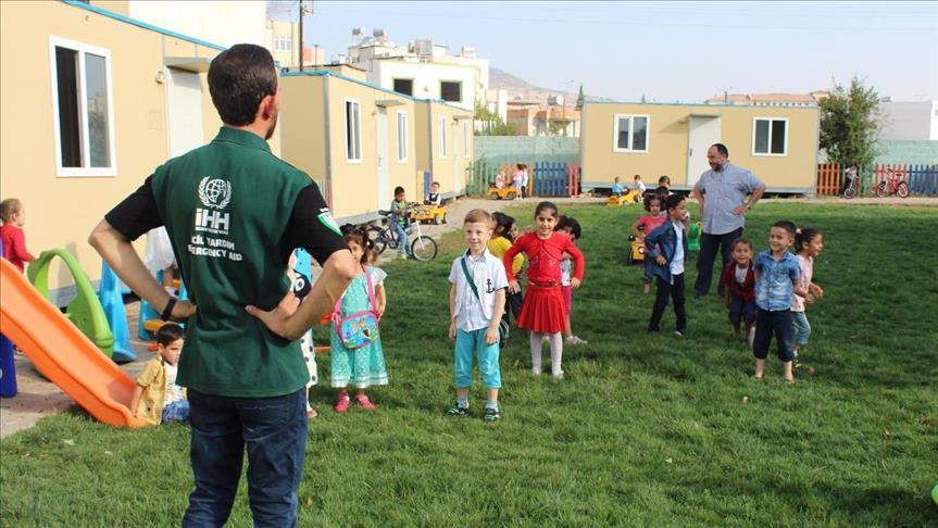 صورة روضتان بولاية تركية تستقبلان 400 طفل سوري يتيم
