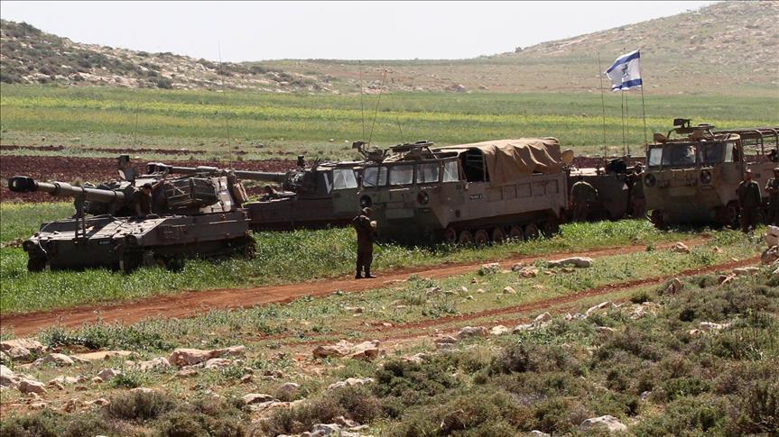 صورة مقتل ضابط وجندي وإصابة 4 جنود إسرائيليين بالجولان