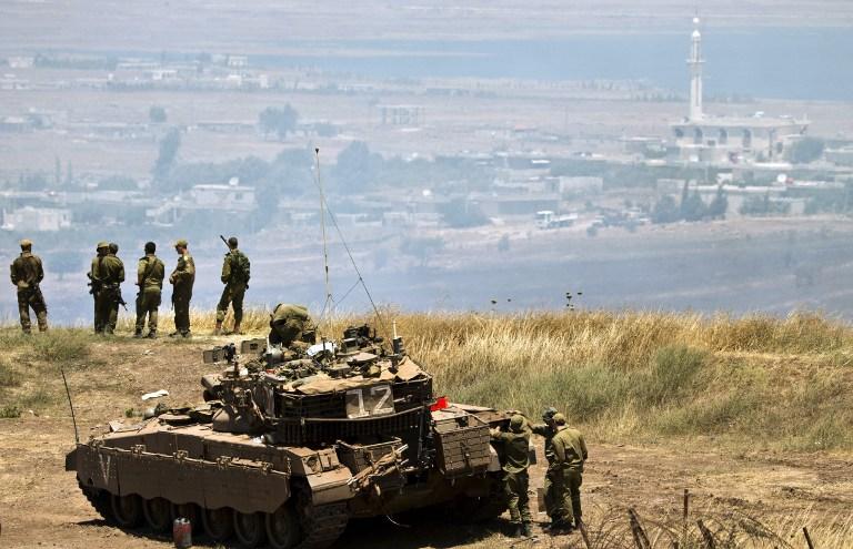 صورة هجوم إسرائيلي جديد على مواقع الأسد