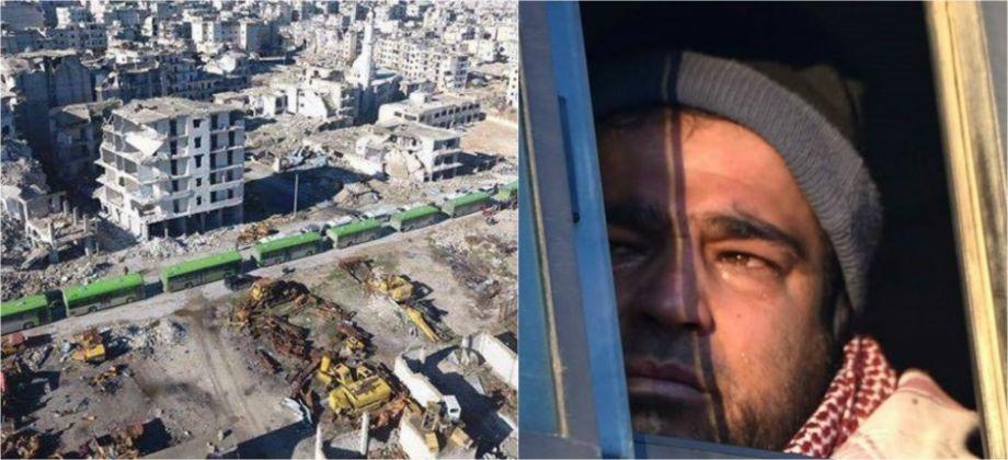 صورة الصليب الأحمر: الحرب بسوريا الأسوأ منذ سقوط شرق حلب