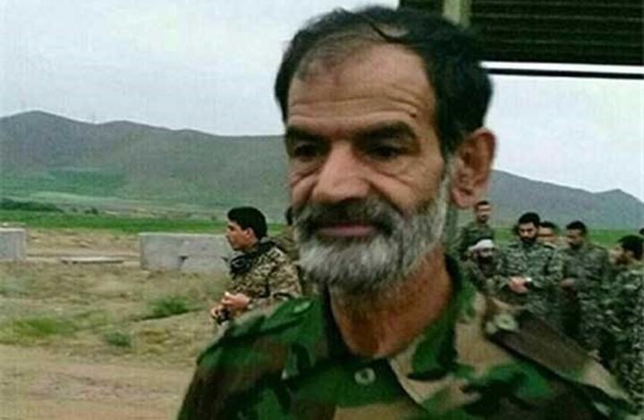 صورة مقتل قيادي كبير للحرس الثوري بسوريا