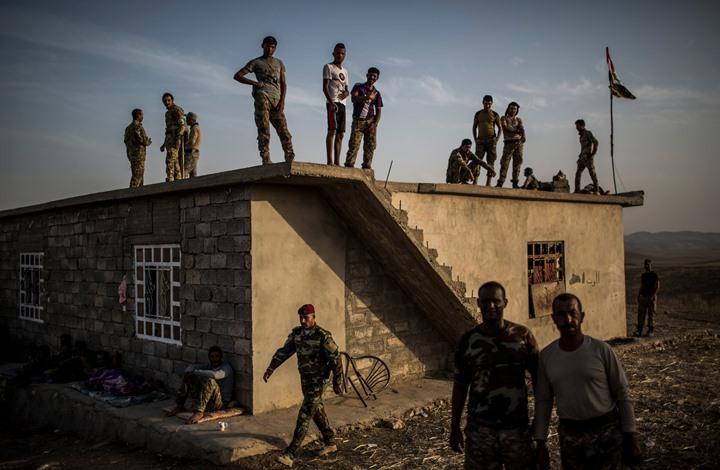 صورة نيويورك تايمز: هذه حال السنة العرب بعد طرد تنظيم الدولة