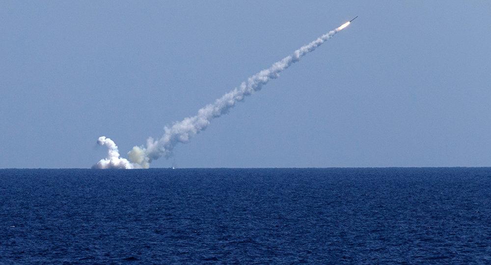 صورة روسيا: قصفنا تنظيم الدولة بالصواريخ المجنحة