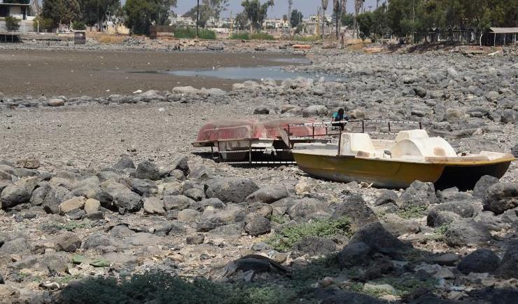 صورة مخزون المياه جنوب سوريا يهدده الجفاف