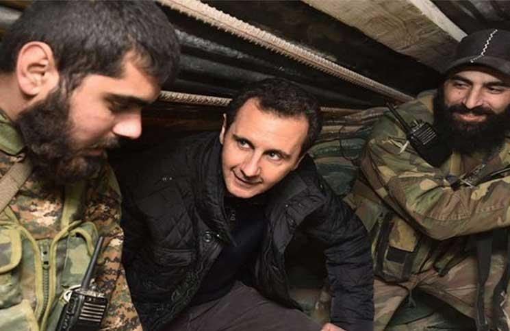 صورة ليبرمان: الأسد انتصر في الحرب