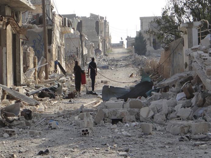 صورة 250 عائلة فلسطينية تعايش حصار الغوطة مع أهلها