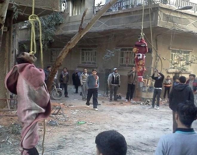 صورة 85 فلسطينياً اعدموا ميدانياً في سوريا