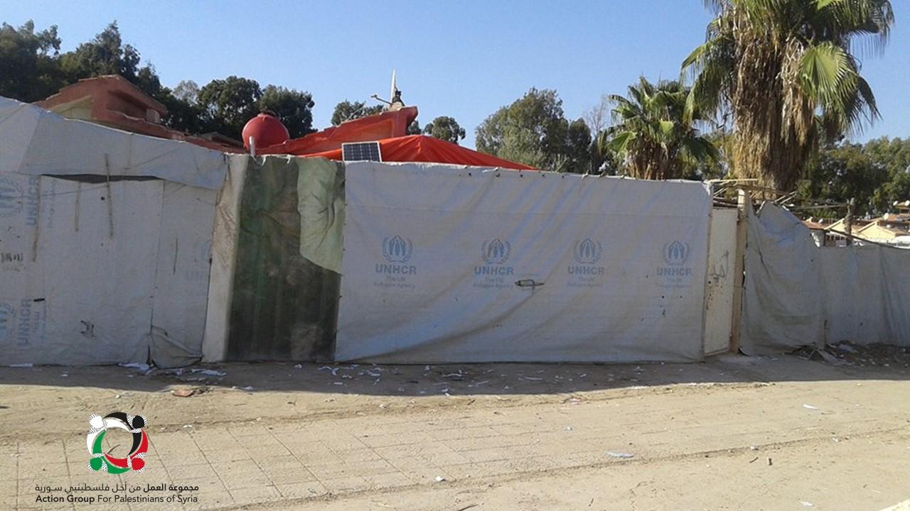 صورة أكثر من 100 عائلة فلسطينية تفتقد أدنى مقومات الحياة جنوب سوريا