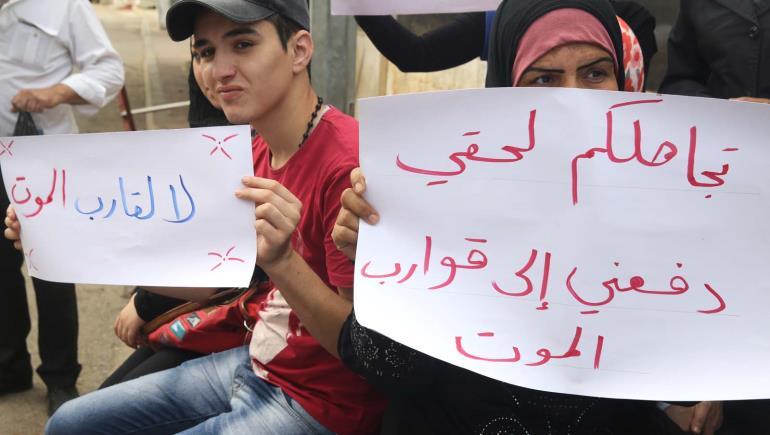 صورة فلسطينيو سورية يعانون التهميش في لبنان