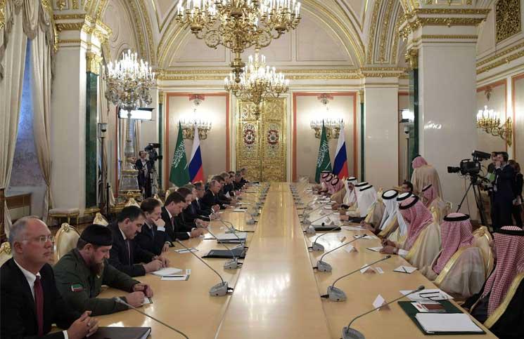 صورة مصادر: الملك سلمان أبلغ بوتين عدم معارضته بقاء الأسد