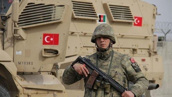 صورة وفد عسكري تركي يدخل الشمال السوري