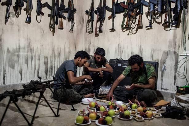 صورة دراسة: أزمة الخليج لن تؤثر في الصراع السوري