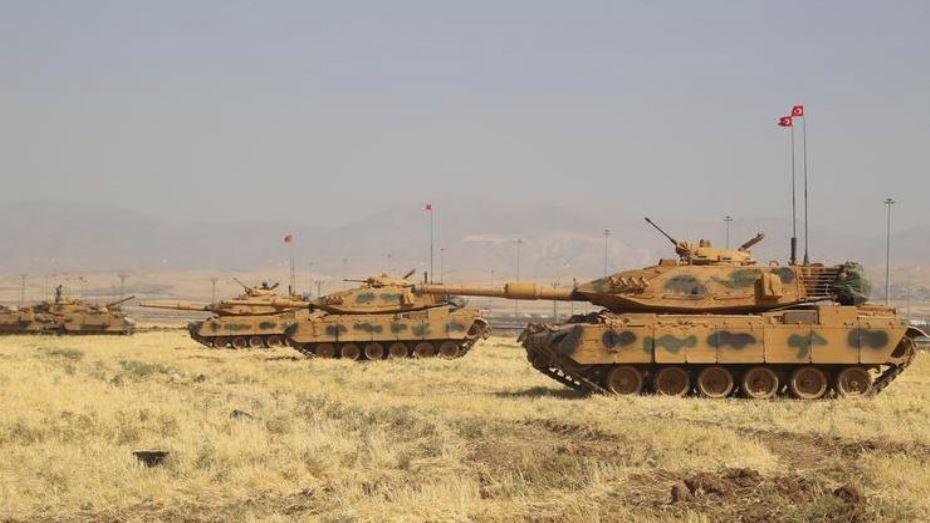 صورة الجيش التركي يحاصر عفرين..وارتياح روسي