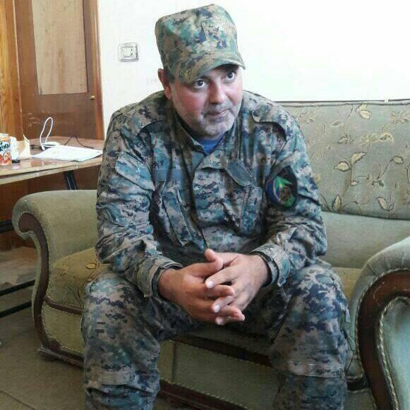 صورة اغتيال قائد فرقة الرضوان في حزب الله بحمص