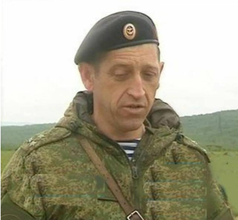 صورة مقتل قائد اللواء 61 في البحرية الروسية بمعارك دير الزور