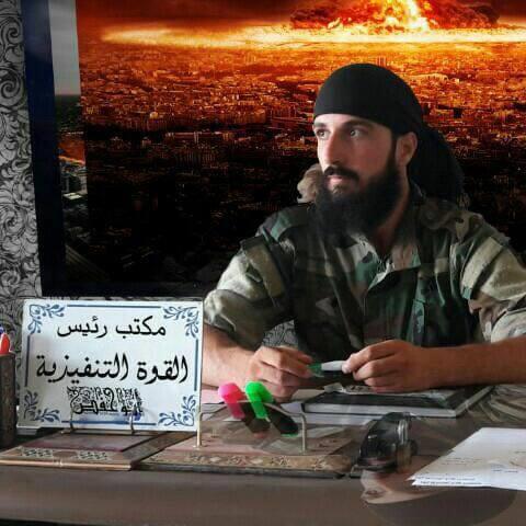 """صورة مقتل مسؤول القوة التنفيذية لـ""""دار العدل"""" بدرعا"""