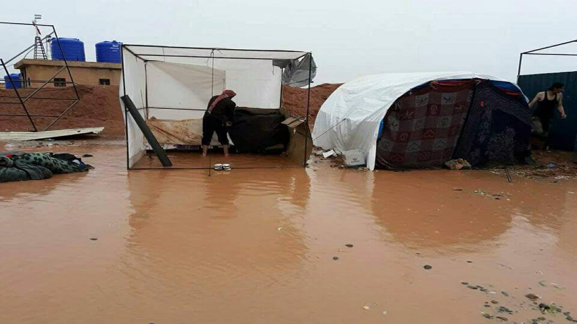 """صورة تفشي الأمراض والأوبئة بمخيم """"الزوغرة"""""""