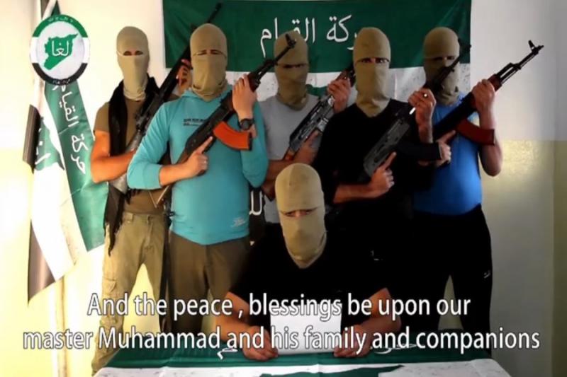 """صورة حركة """"القيام""""..تشكيل عسكري جديد يتوعد الميليشيات الكردية"""