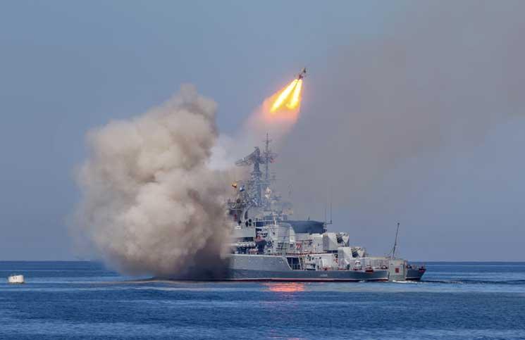 صورة صاروخ روسي بمواصفات فائقة والتجربة على السوريين!
