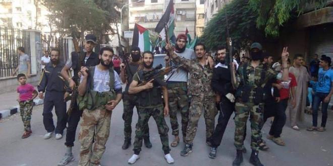 صورة قناصة تنظيم الدولة يقتلون قياديا معارضا جنوبي دمشق