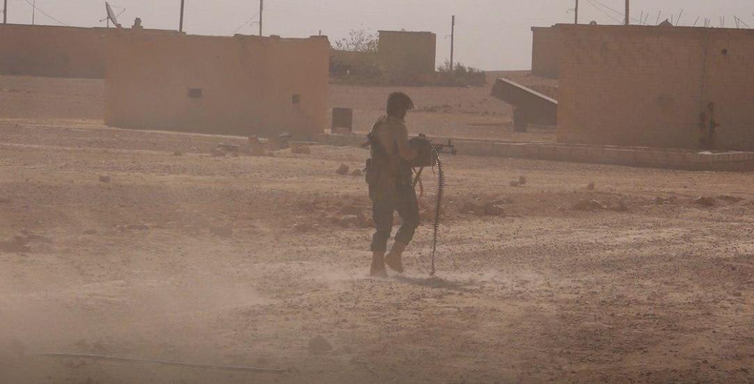 صورة مقاتلات سورية روسية تساند تنظيم الدولة شرقي حماة