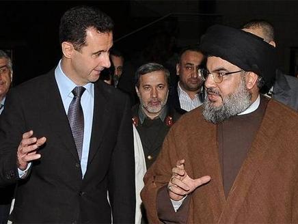 صورة رسائل إسرائيلية لحزب الله والنظام السوري