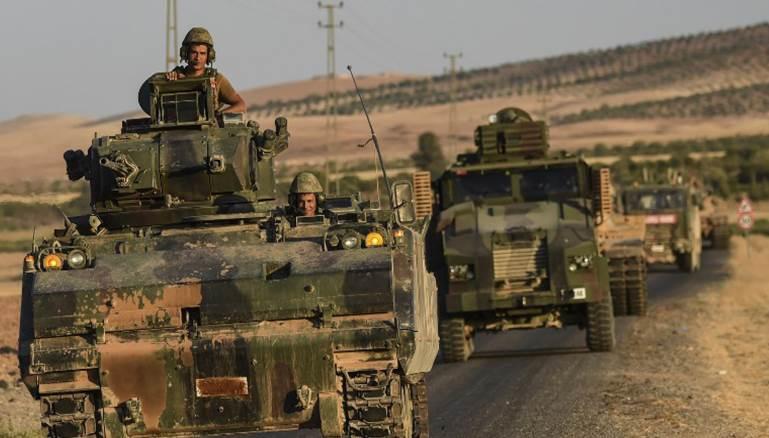 صورة الجيش التركي يبدأ بالانتشار شمالي سوريا