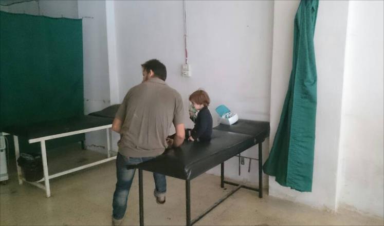 صورة مرضى الغوطة الشرقية محاصرون ومهددون بالموت