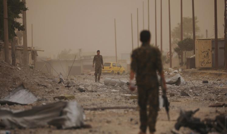 """صورة الأمم المتحدة """"مصدومة"""" من الانتهاكات الحاصلة بالرقة"""
